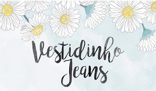 Logo blog Vestidinho Jeans