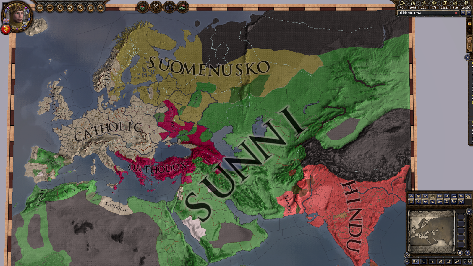 Freodom: CKII: The sun sets