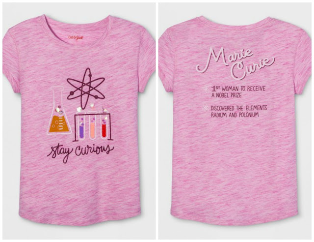 Science STEM t-shirts for Girls
