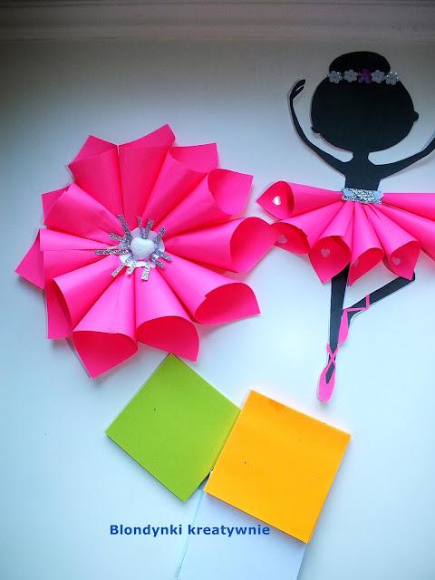 Kwiaty z papieru 3D