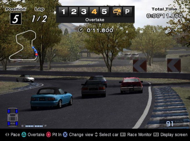 Gran Turismo 4 PS2 GAME ISO Gameplay