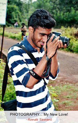 Cover Photo: Photography... My New Love - Ronak Sawant