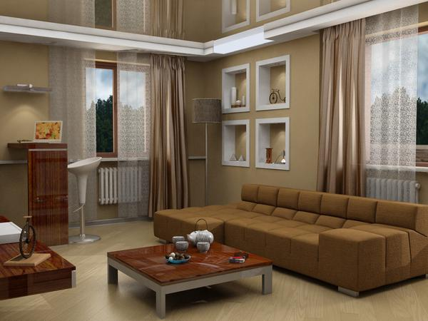 Here is The Best Colors for Living Room with Brown ...