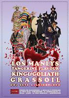 Concierto de Halloween de Tangerine Flavour, Los Manlys, Gassoil y King & Goliath en Phantom Club