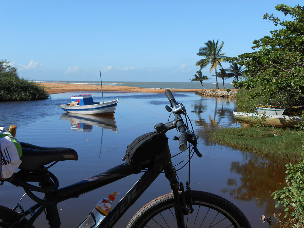 Barra do Sahy - 1ª manhã da viagem. Foto Gilson Soares, 2014.