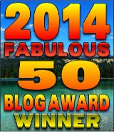 Winner - 2014 Fabulous 50 Blog Awards