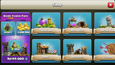 Update Clash of Clans Terbaru New Defense And Army Training Revamp