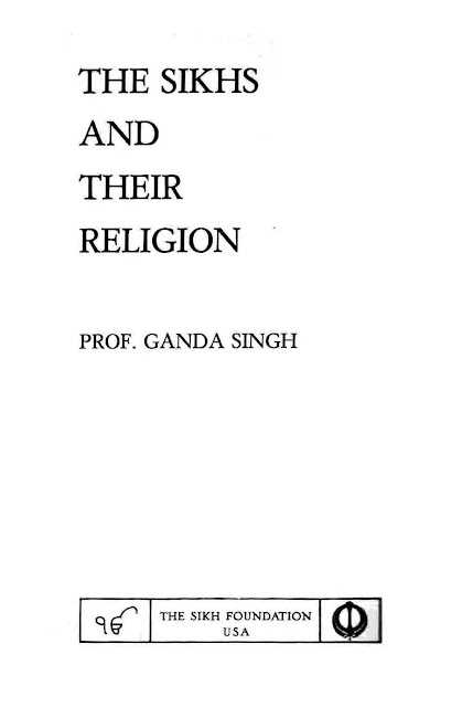 The Sikhs and Their Religion