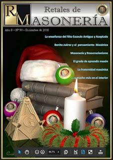 Retales Masonería 90 – Diciiembre 2018