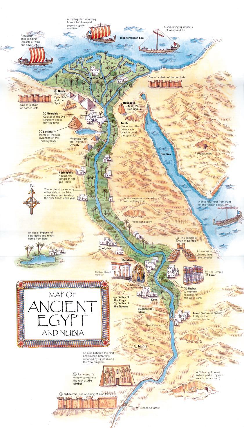 Mapa Del Antiguo Egipto Blanco Y Negro.The Pink Binnacle Egipto