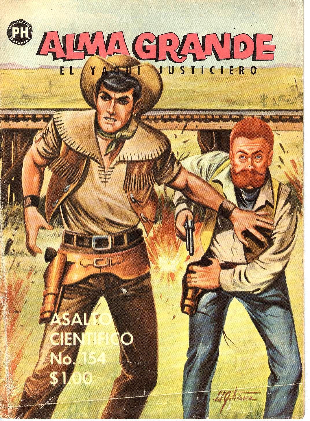 Western Comics Chejov: Alma Grande Nº 154