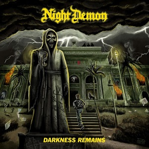 "Το lyric video των Night Demon για το τραγούδι ""Hallowed Ground"" από το album ""Darkness Remains"""
