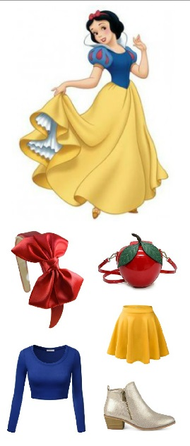 Snow White Costume - Disneybound outfit | Disney Halloween Costume