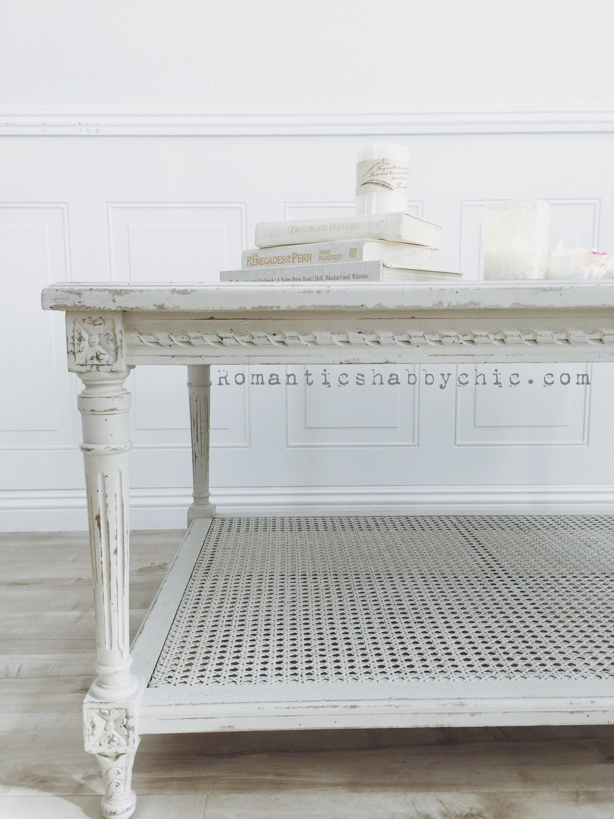 Romantic Shabby Chic Home Romantic HOME Le Courte Coffee Table