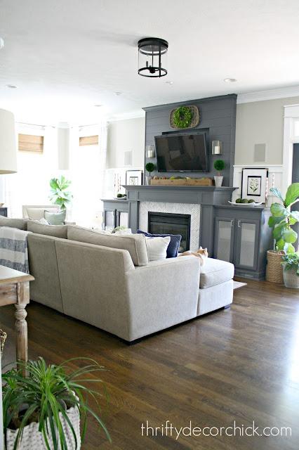 Jacobean hardwood floors