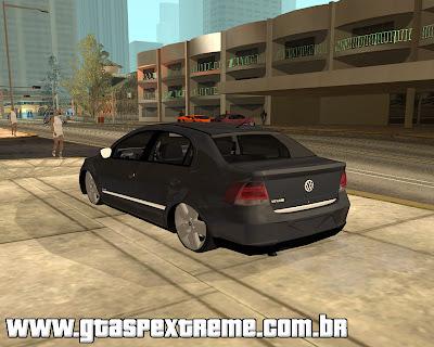 Vw Voyage 2009 Suspen Ar para grand theft auto
