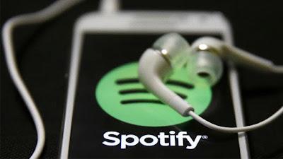 Spotify fones de ouvido e celular