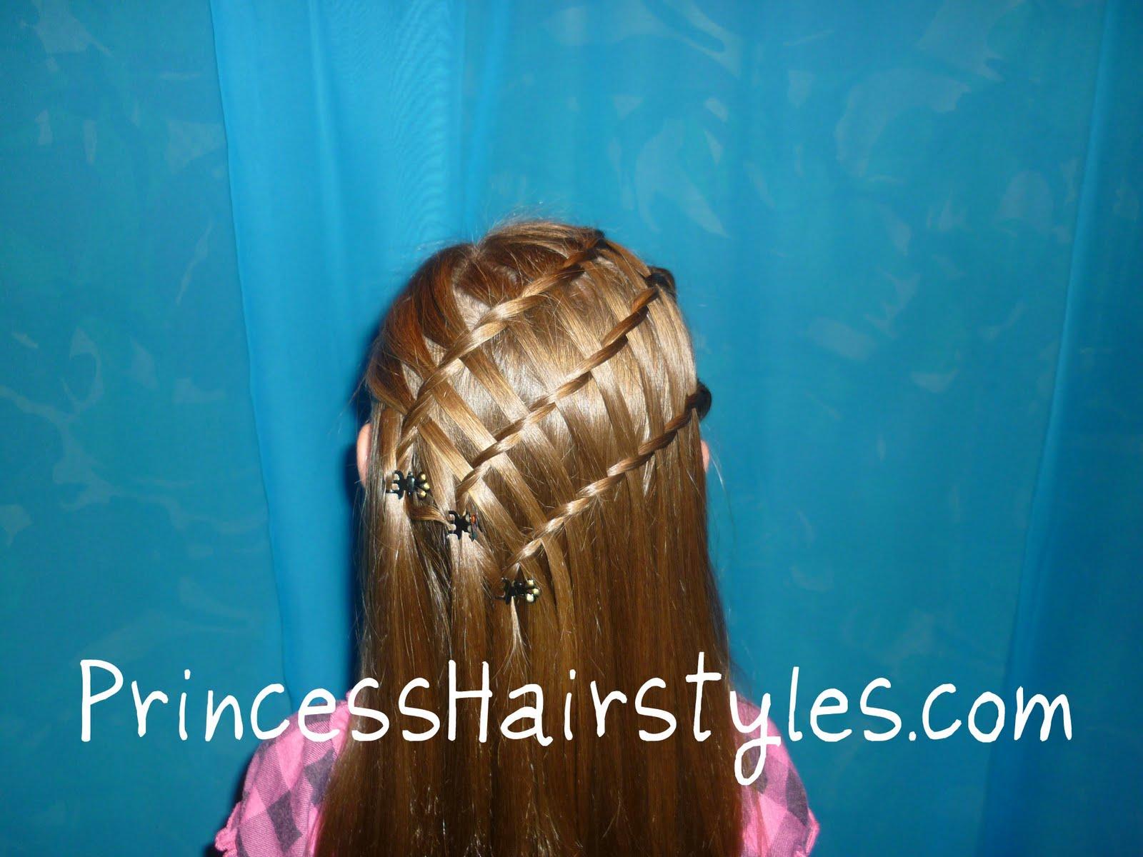Excellent Triple Twisty Waterfall Braid Hairstyle Hairstyles For Girls Short Hairstyles For Black Women Fulllsitofus