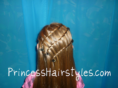 waterfall triple braid