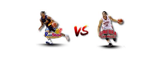 April 29: Rain or Shine vs Ginebra, 6:45pm Smart Araneta Coliseum