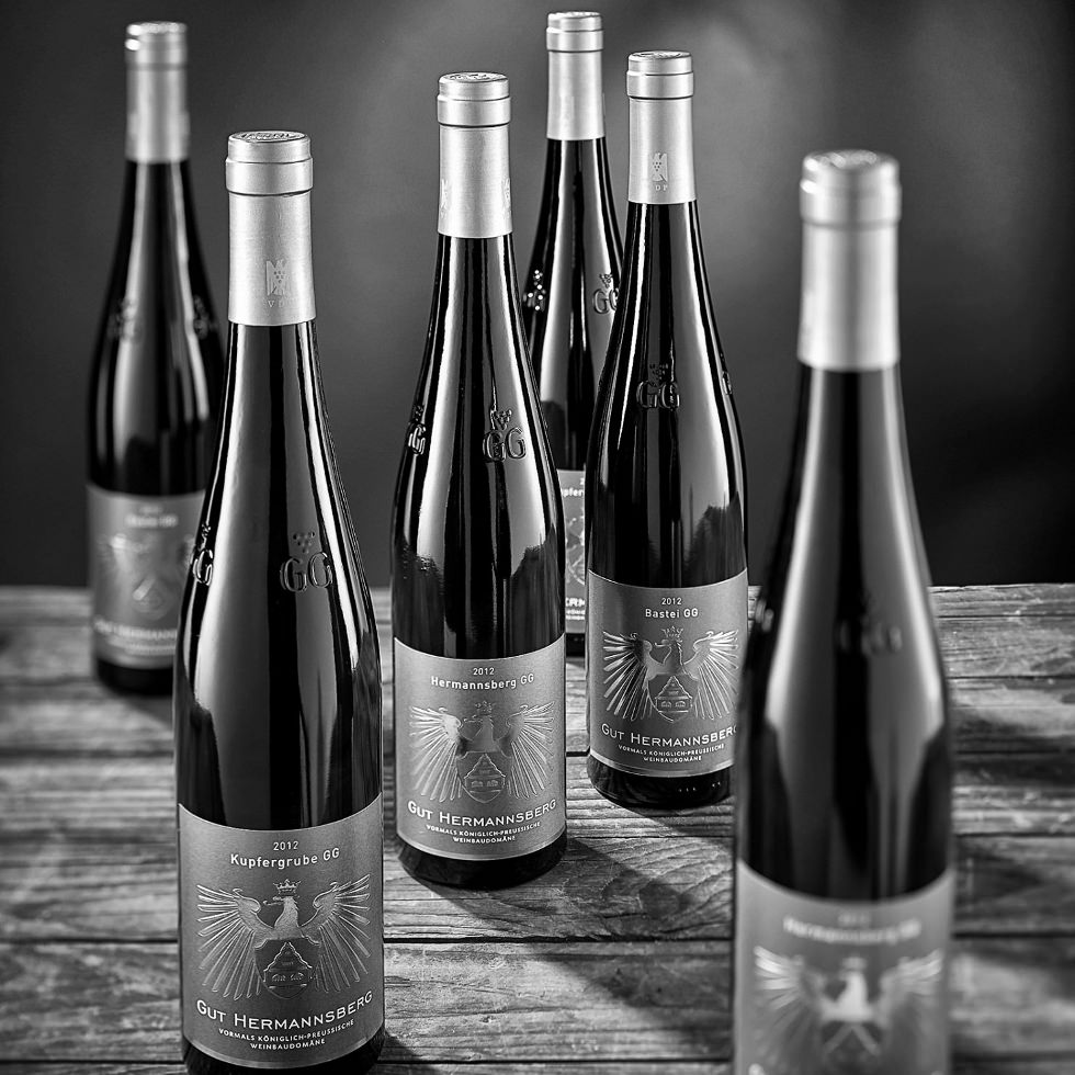 Das Gut Hermannsberg an der Nahe praesentiert seine Grossen Gewaechse des Weinjahrgangs 2013