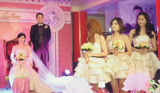 Selina Ren's Wedding Round 2 ~ KAY'S ENTERTAINMENT