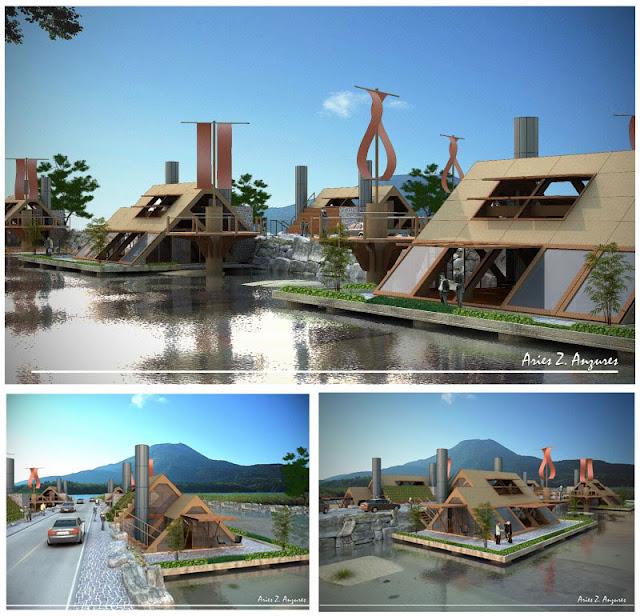 Philippine Dream House Design Futuristic Bahay Kubo