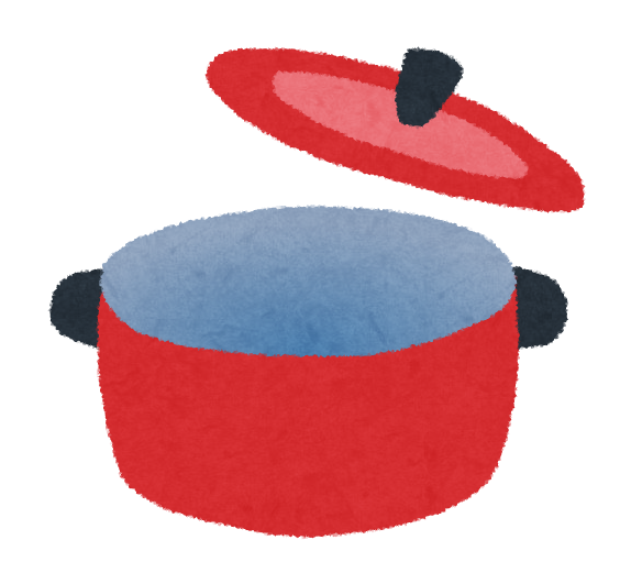 調理器具のイラスト鍋 かわいいフリー素材集 いらすとや