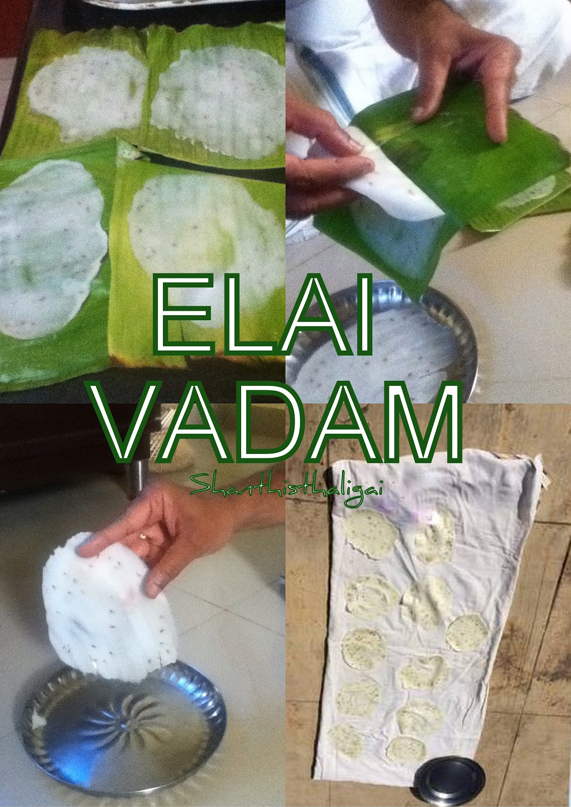 Elai vadam, How to  make elai vadam, Elai vadam recipe