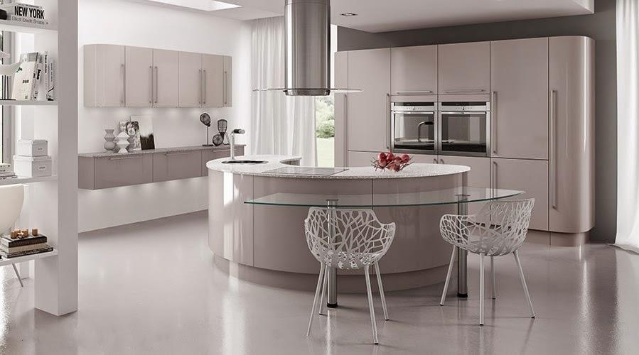30 modelos de mesas y barras para cocinas de todos los for Barras modernas para living