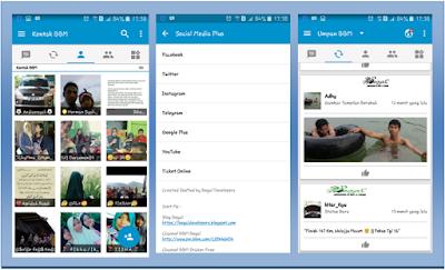 Apps BBM MOD Sosmed v3.0.0 (Facebook, Twitter, Instagram) Base 3.0.1.25 Apk