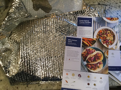 Blue Apron Shipping Bag