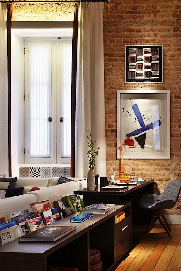 Modern Interior Design Of Apartment In Warm Shades