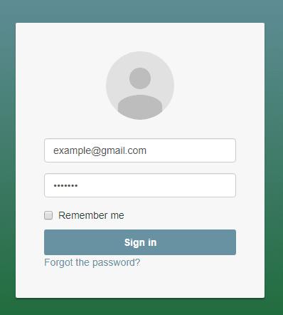 how to create login page in aspdotnet mvc5