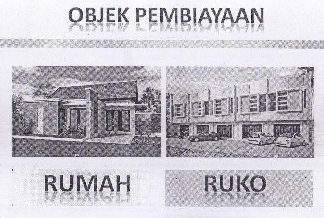Objek pembiayaan kredit jaminan gadai SHM dan SHGB Rumah atau Ruko