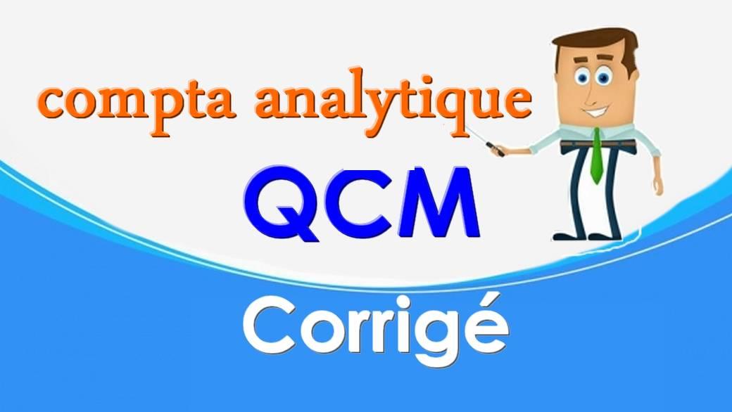 QCM en comptabilité analytique S3 corrigé en Video
