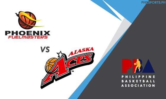 PBA: Phoenix Fuel Masters vs. Alaska Aces