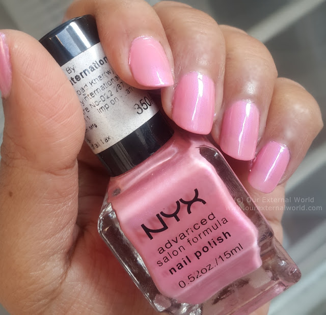 NYX Advanced Salon Formula Nail Polish - Review and Swatches - NPS 227