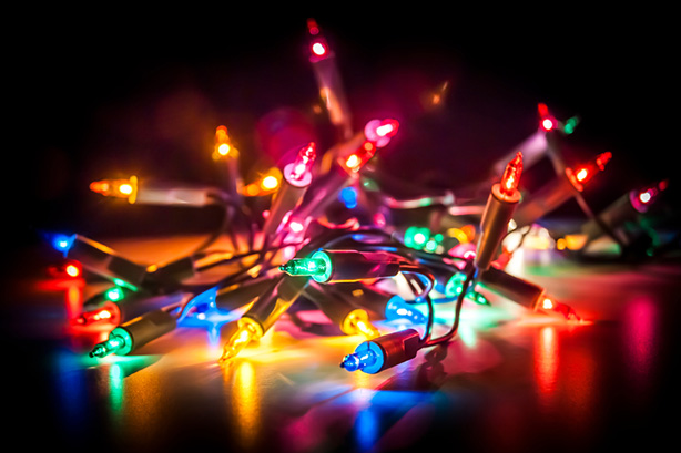What are your favorite color Christmas lights?
