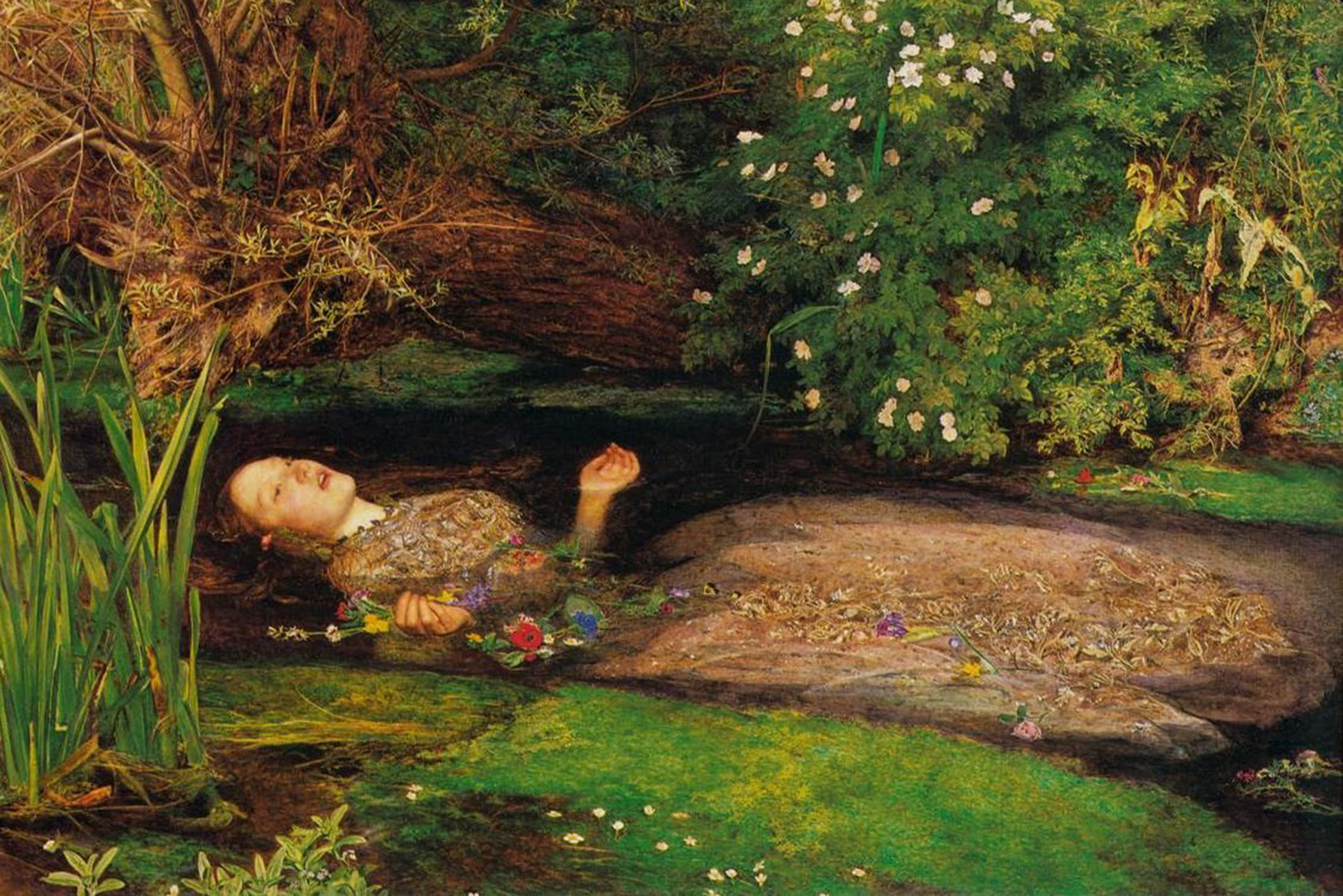 Ophelia S Adornments Blog May 2012: Art Masterpieces Of The Ages: Ophelia