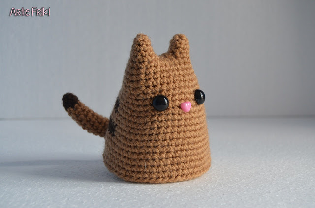 gato amigurumi cat crochet doll ganchillo muñeco animal handmade knitting punto