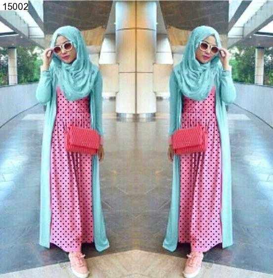 Jual Plus Jilbab / Kerudung 3in1 Cerelia Hijab Set - 15002