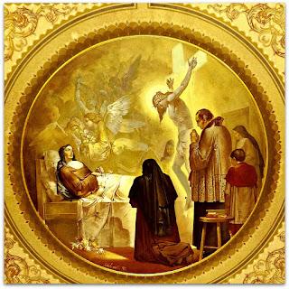 'Teresinha no Leito de Morte', Aldo Locatelli (1957) - Igreja Santa Teresinha