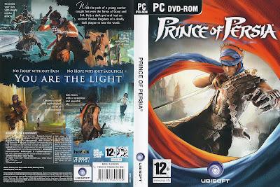 Prince Of Persia 4 PC DVD Capa