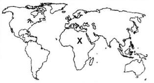 Kunci Jawaban dan Pembahasan UN Geografi  2017 No 21-25