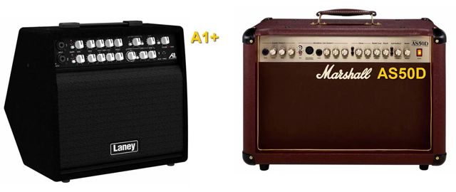 Laney A1+ Vs Marshall AS50D Amplificadores Acústicos
