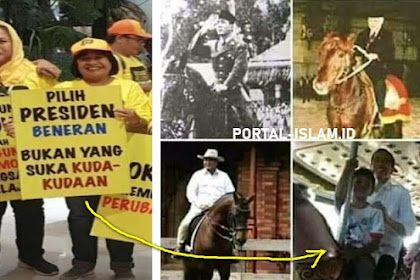 NAMPOL SENDIRI! Pilih PRESIDEN BENERAN, Bukan Yang Suka KUDA-KUDAAN