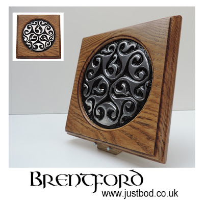 Brentford sculpted metal Celtic Art wall plaque by Justbod