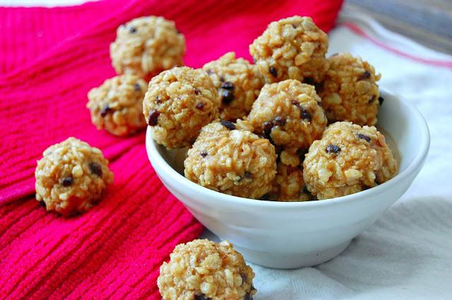 Making Peanut Butter Rice Crispy Chocolate Balls