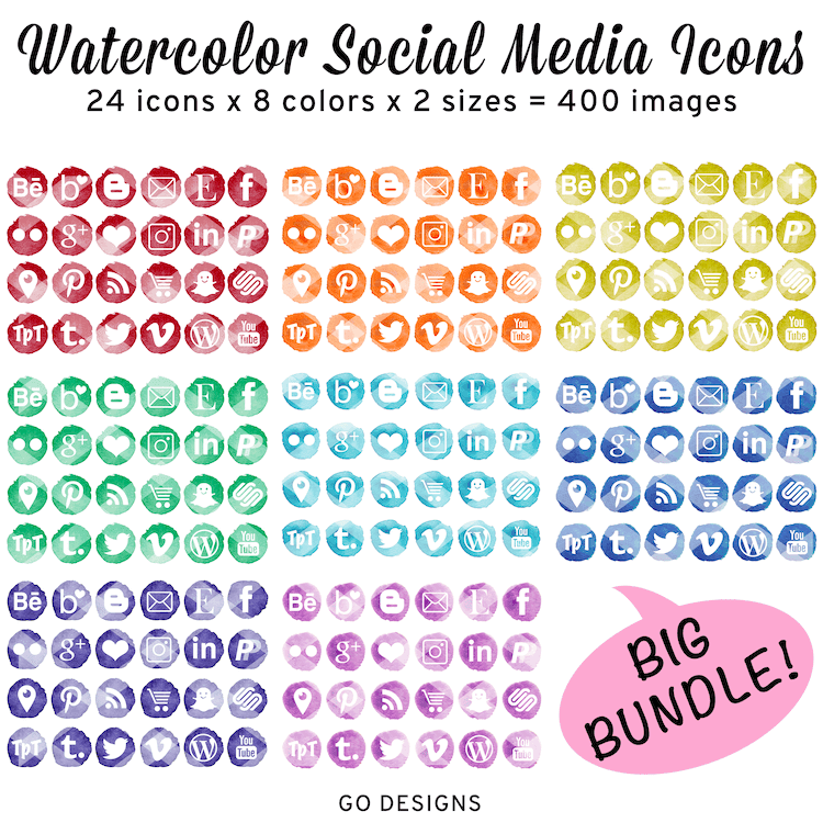 https://www.teacherspayteachers.com/Product/Watercolor-Social-Media-Icons-Big-BUNDLE-8-Colors-3815020